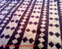 bright vintage quilt
