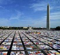 AIDS Quilt in Washington, DC