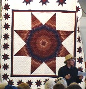 Amish Star of Bethlehem quilt