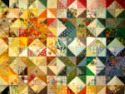 Delightful color play patchwork