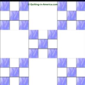 double ninepatch quilt block