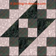 Underground Railroad quilt block