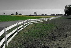 Amish Fence in Lancaster County