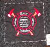 Commemorative Label on the Back of the Quilt