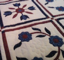 elaborate applique patchwork