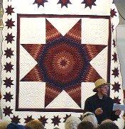 Amish Star of Bethlehem quilt