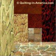 Amish Log Cabin quilt block