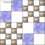 Double Four-Patch quilt block