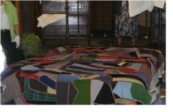 The Warm Crazy Quilt at a